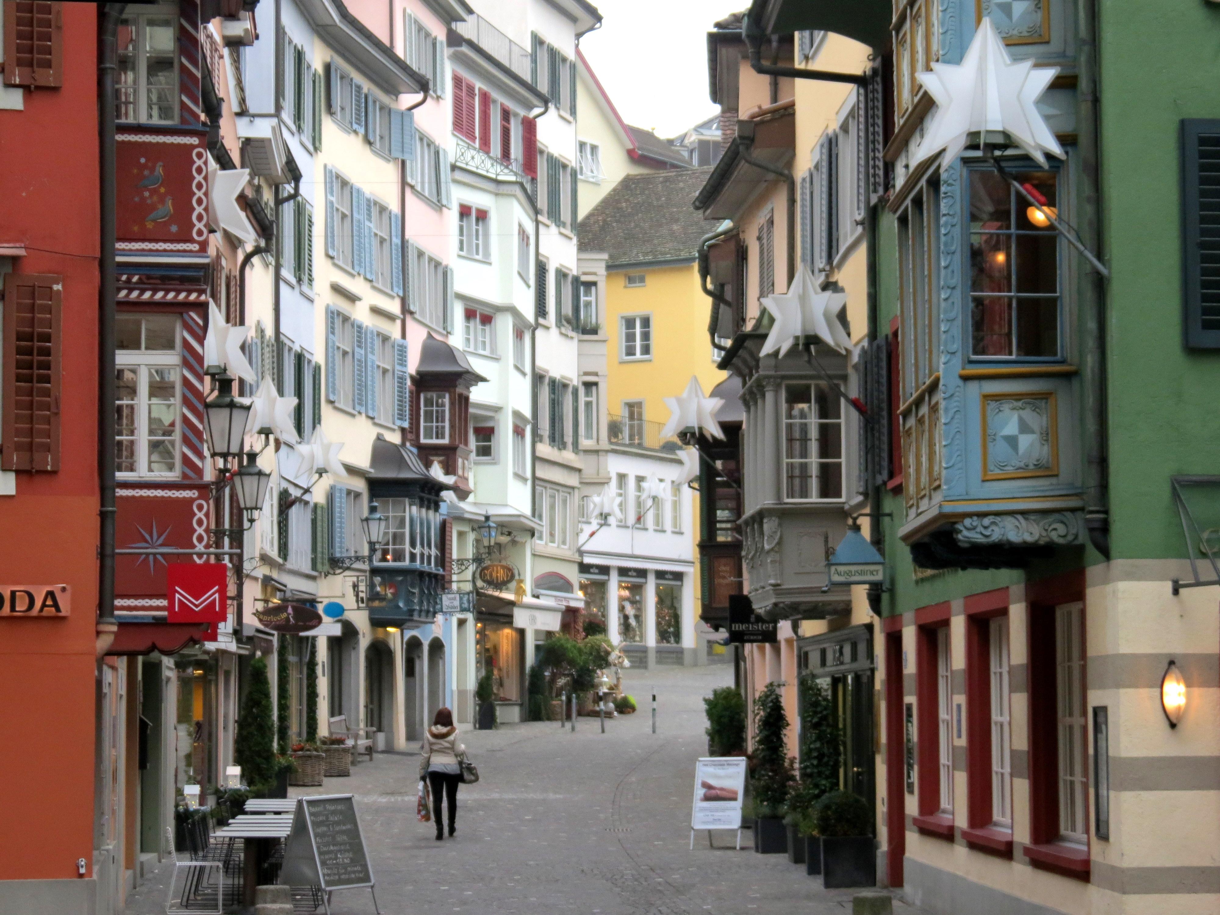 Augustinergasse Zurich