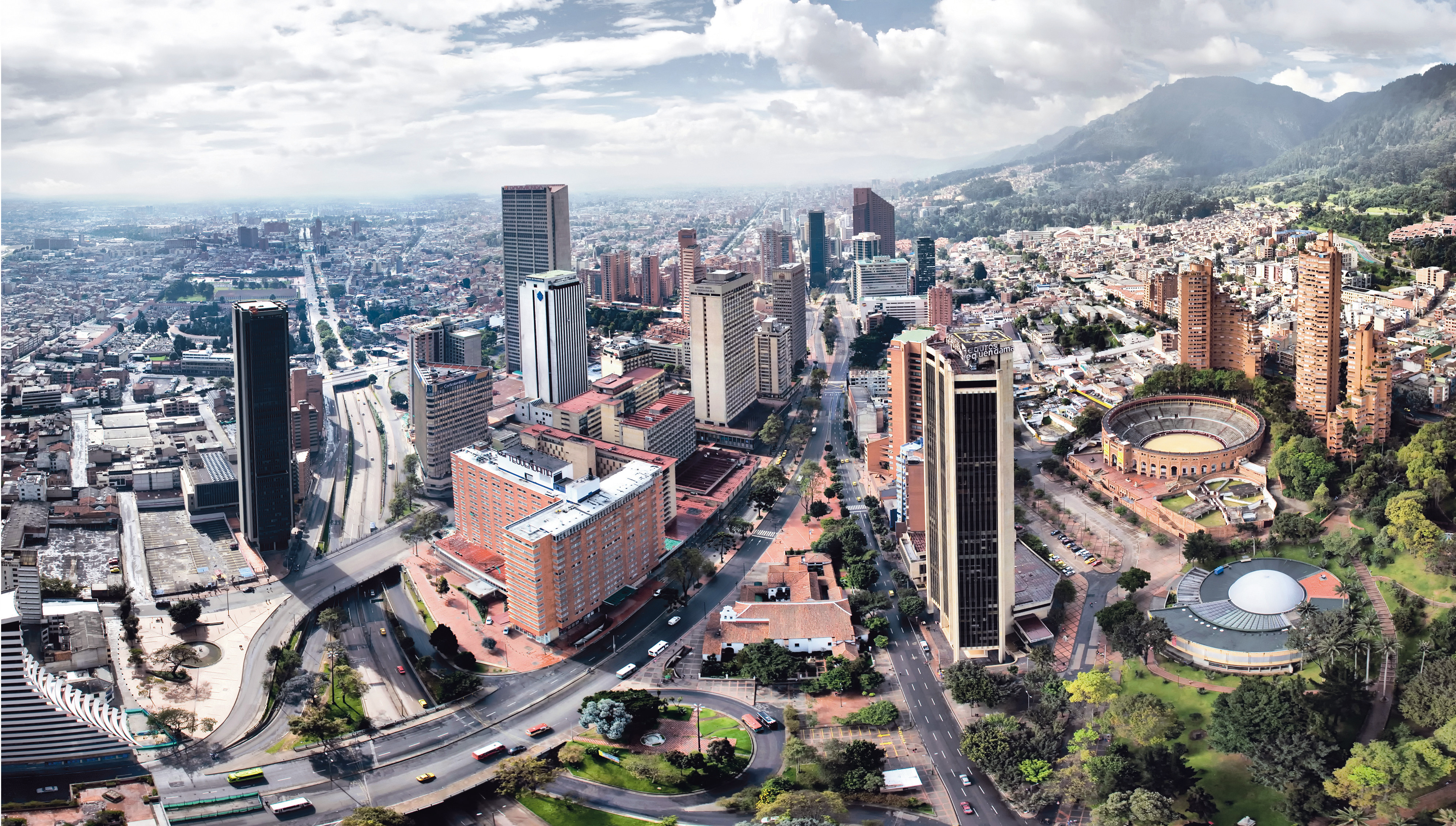 Bogota The Capital Of Colombia