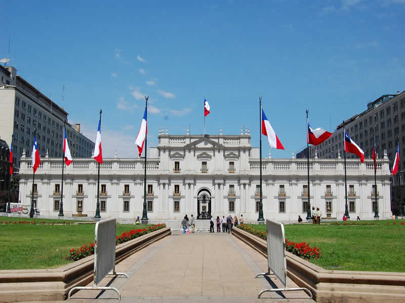 La Moneda Palace Santiago (Chile)