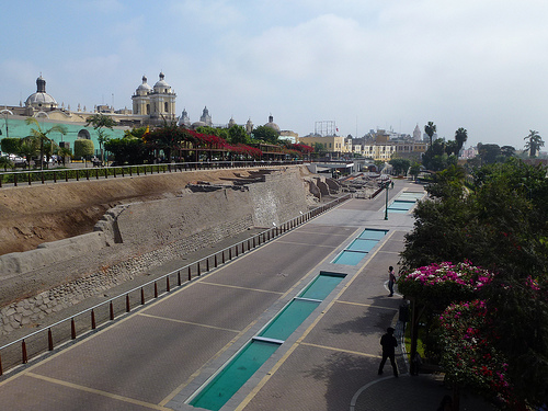 Walls of Lima,Peru Famous walls in the world