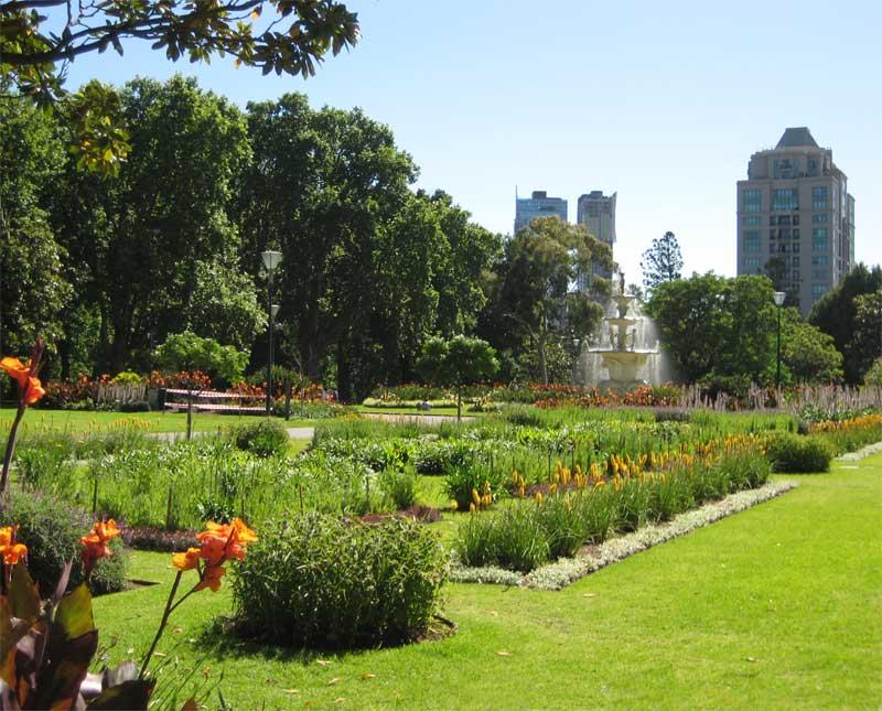 Royal Botanic Gardens Melbourne Australia