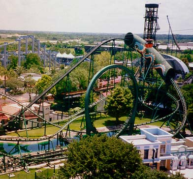 six flags park houston