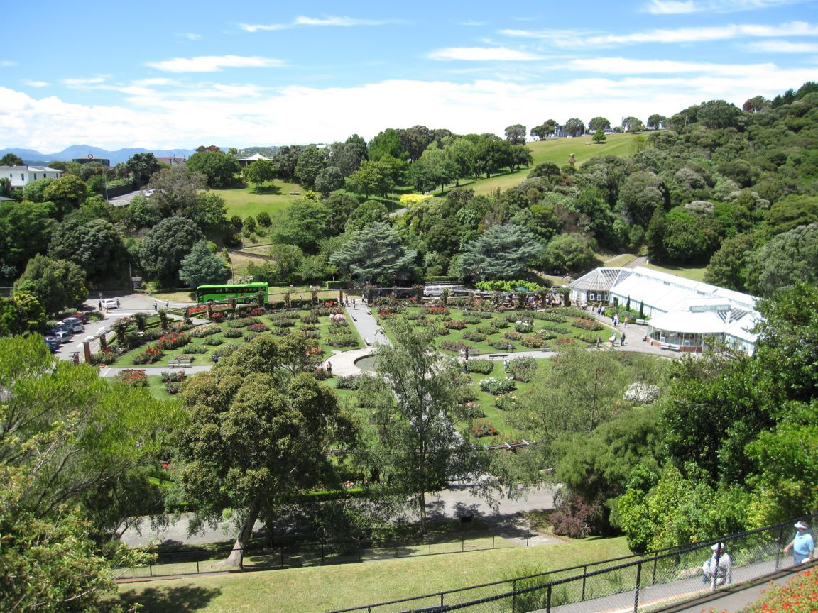 Wellington Botanic Garden,New Zealand