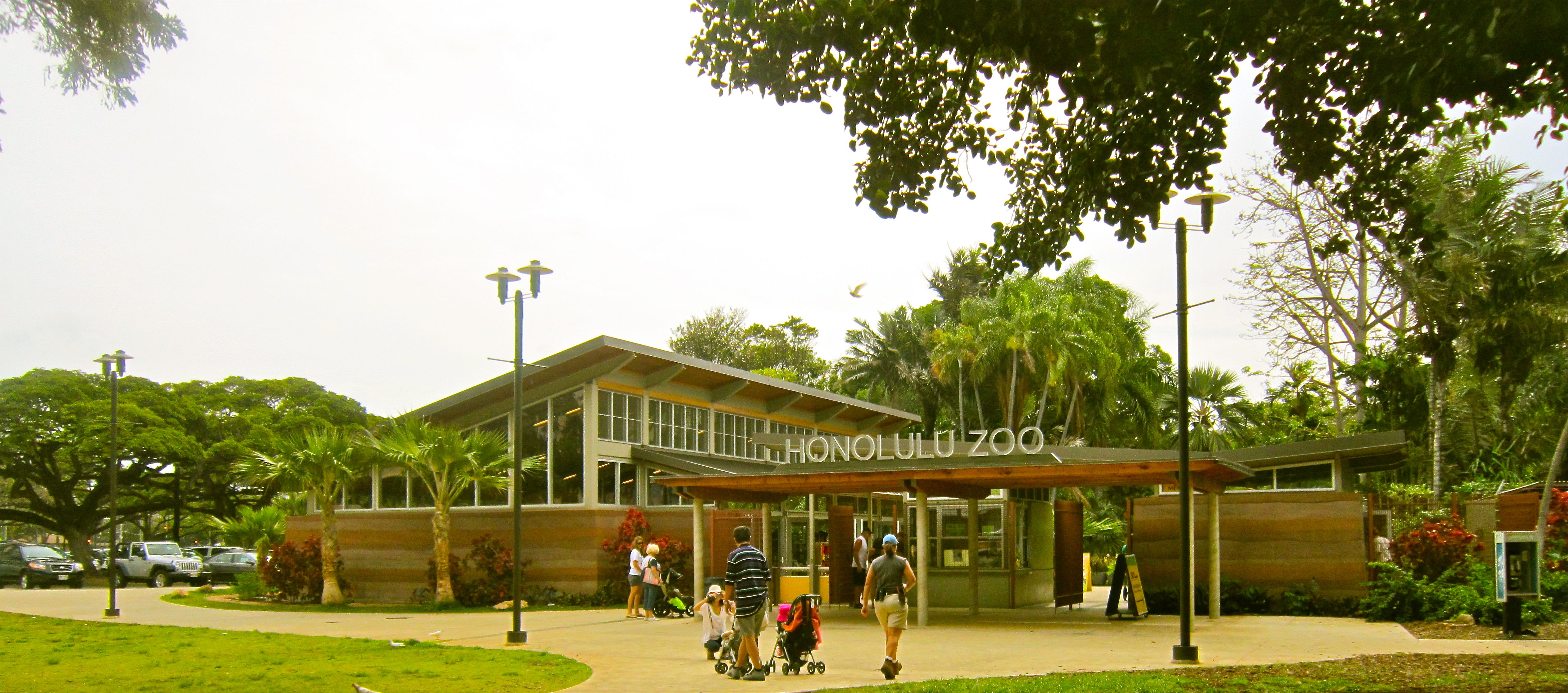 Honolulu Zoo, Hawaii