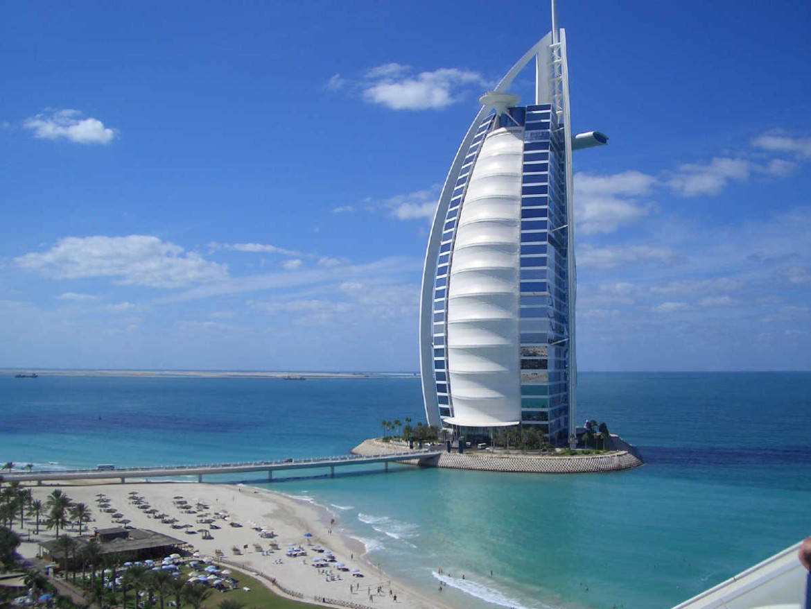 Burj al arab visit all over the world for Al burj dubai