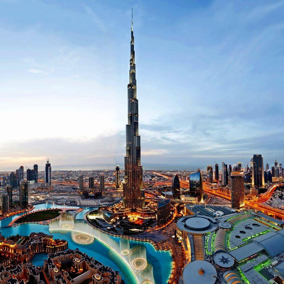 burj khalifa in Downtown Dubai