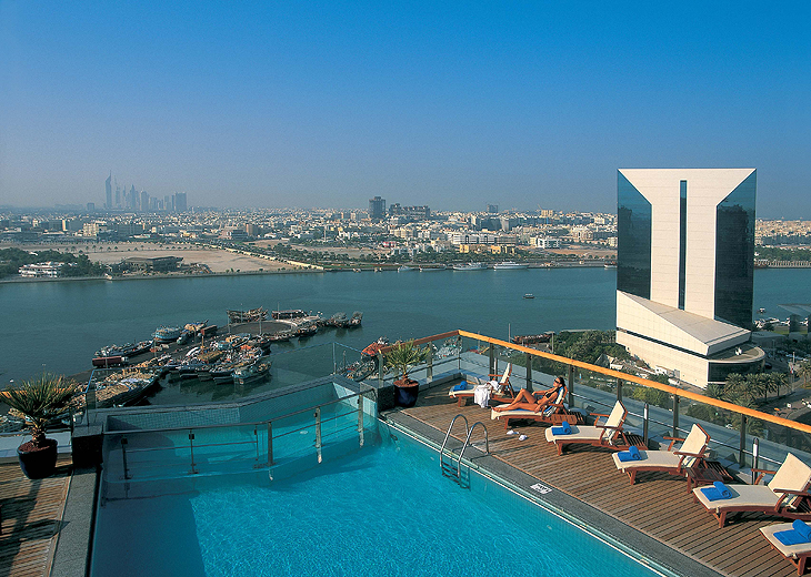 dubai creek is well-known for its beauty