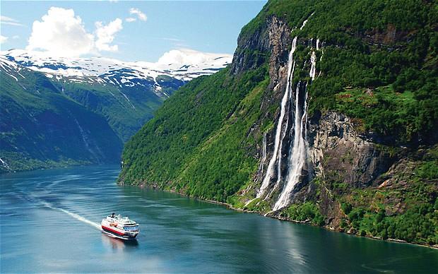 Geirangerfjord  a UNESCO world heritage site