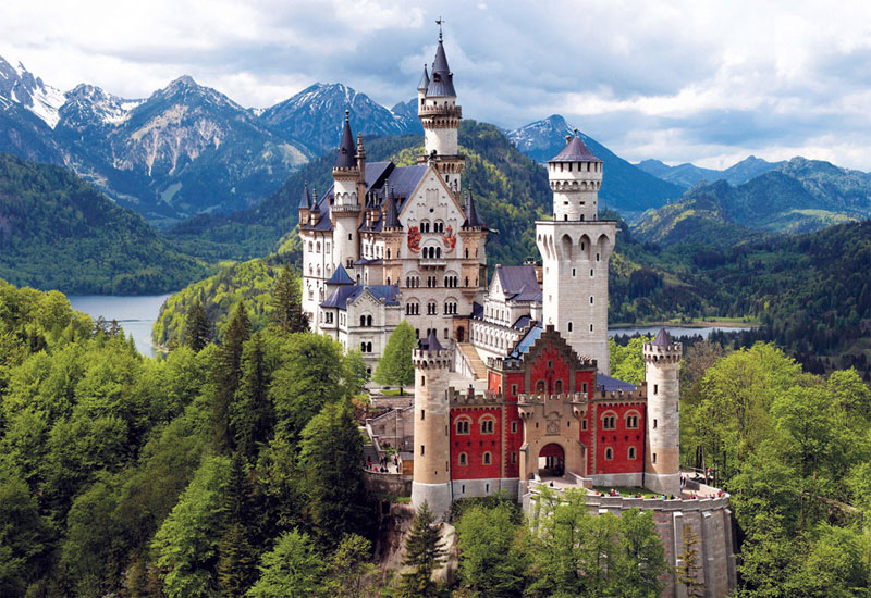 Castles in Bavaria, Germany