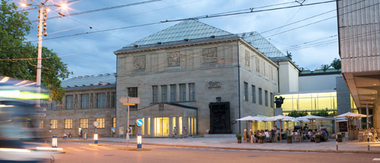 Kunsthaus museum zurich switzerland