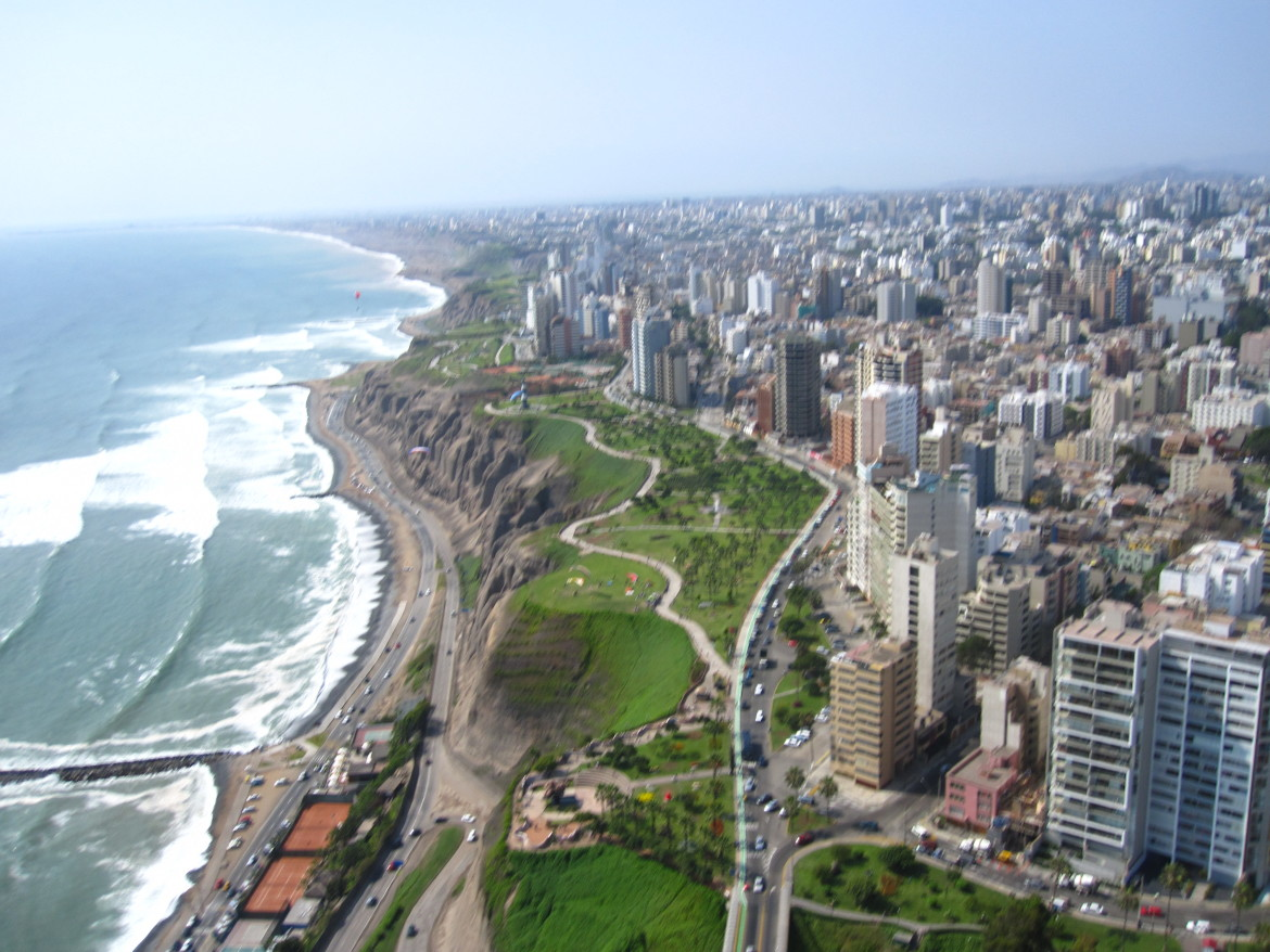 a beautifull picture of lima,peru