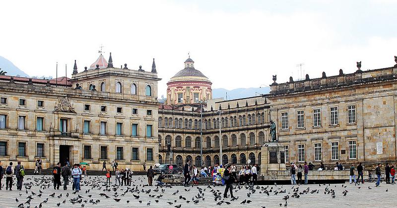 Bolivar Square Plaza Bogota(Colombia)