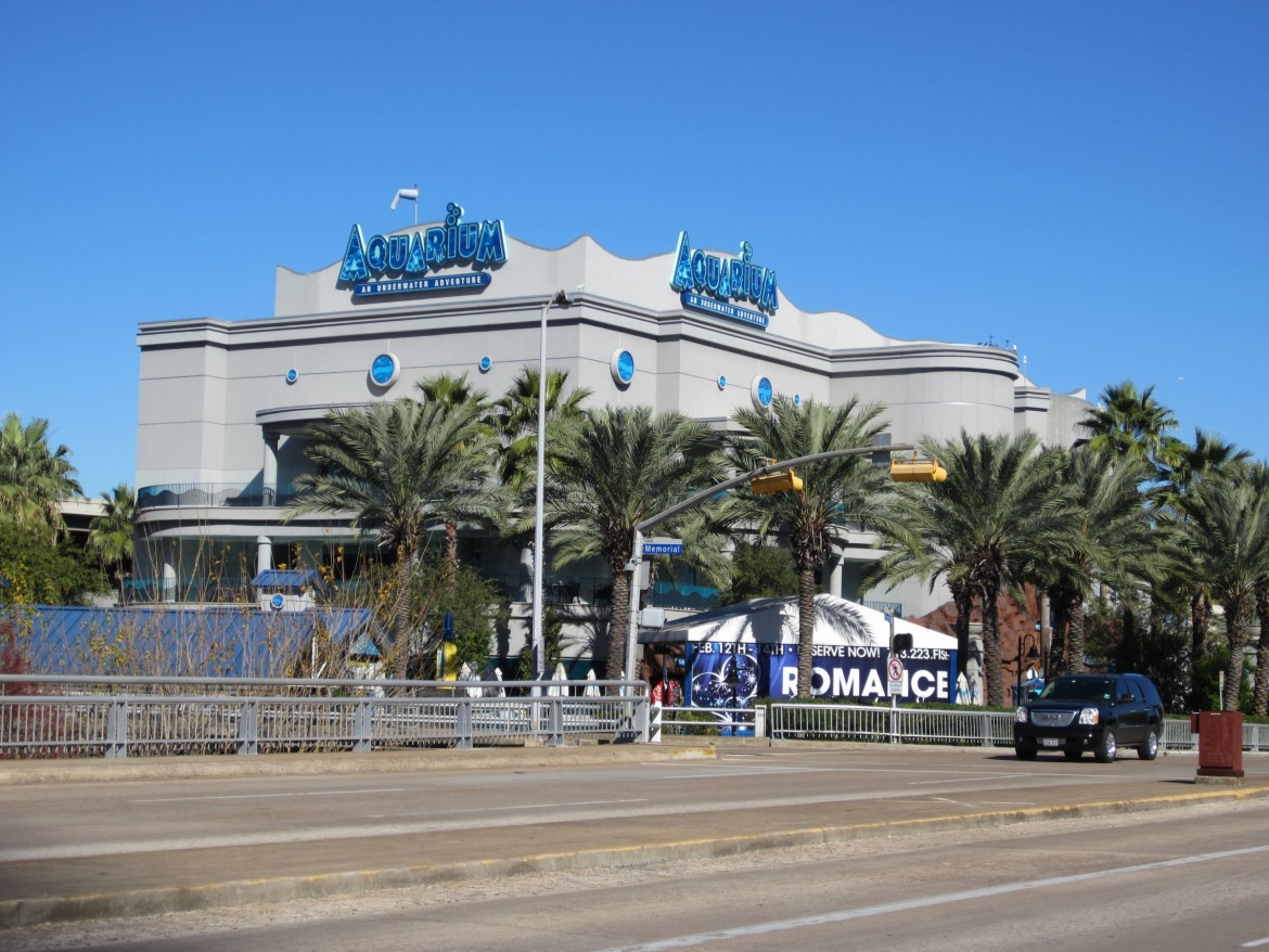 Downtown Aquarium exterior