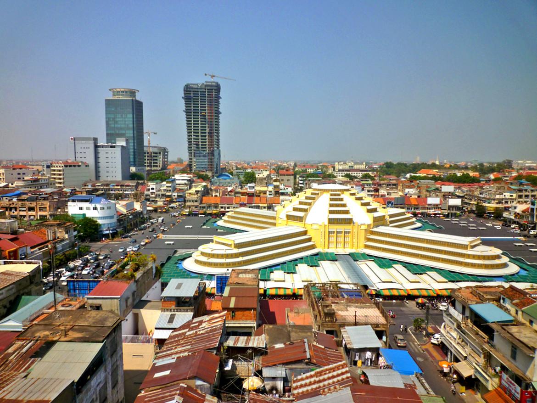 Mercado-central-Phnom-Penh cambodia