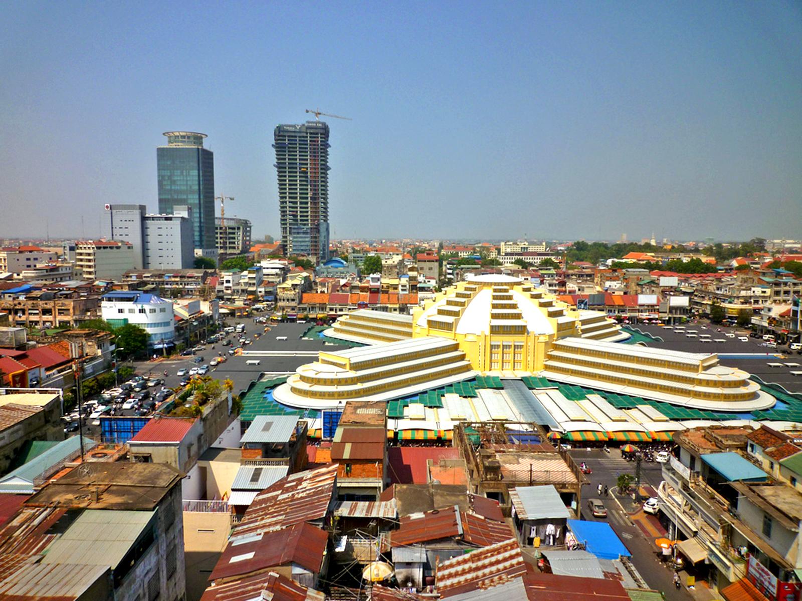 Phnom Penh the Capital of Cambodia