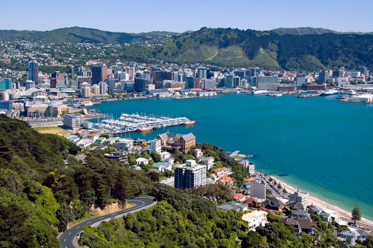 Wellington, the capital of New Zealand
