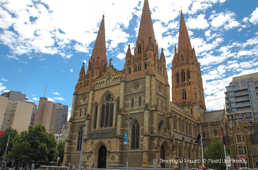 flinders street st paul's cathedral