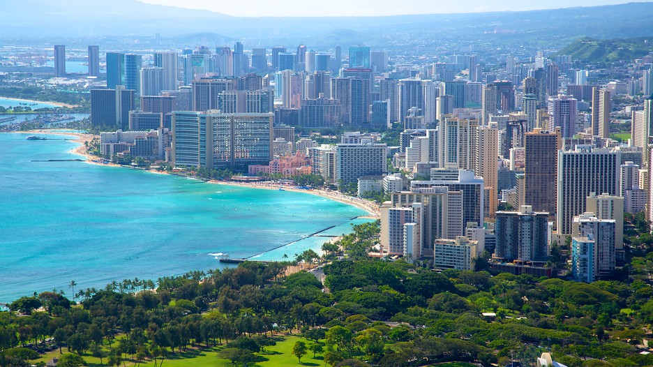 Honolulu, The Capital City Of Hawaii State