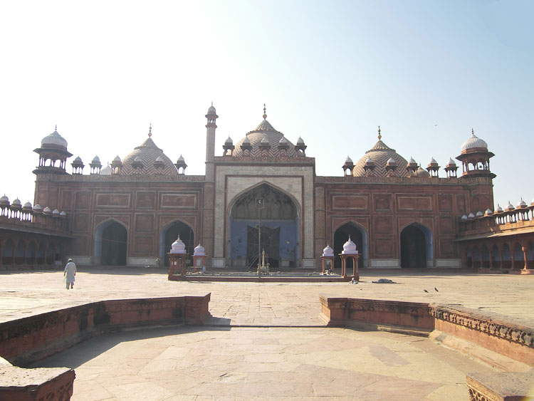 jama masjid agra, India