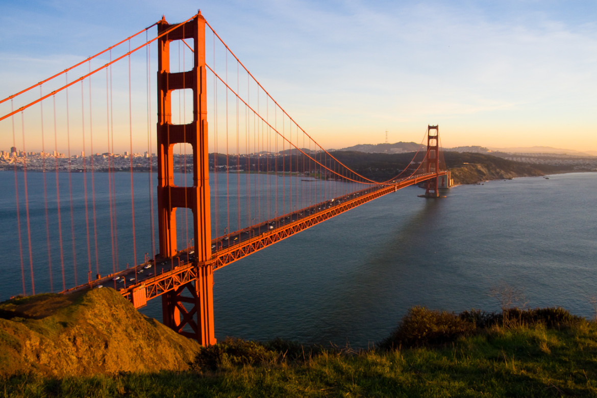 Golden-Gate-Bridge in USA