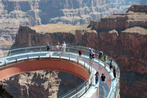 Grand Canyon skywalk is the world's highest skywalk