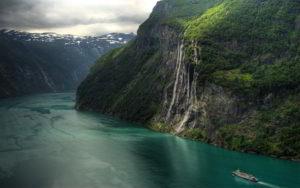 Geirangerfjord scenery