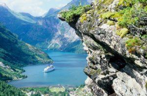 cruise at Geirangerfjord