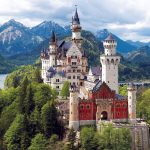 Famous Castles in Bavaria (Germany)