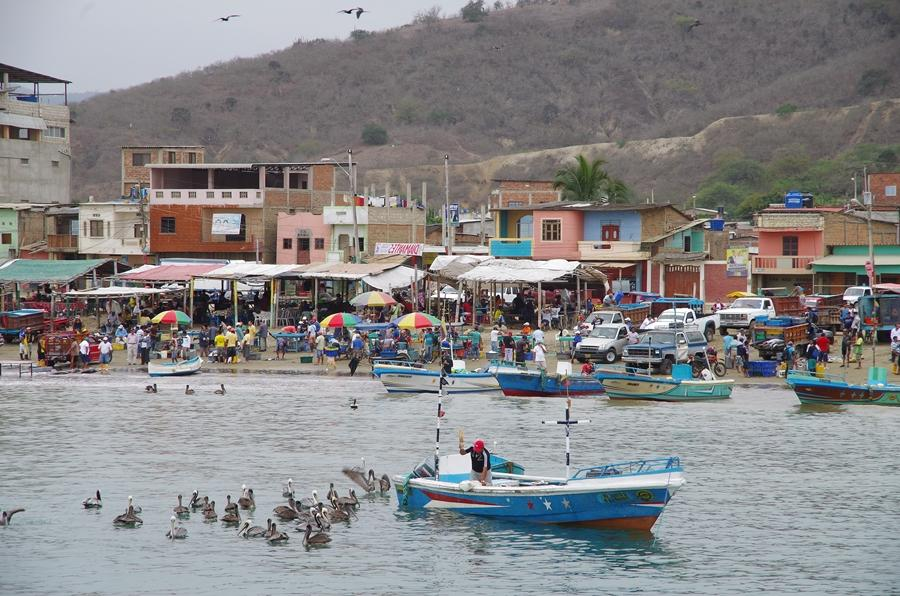 Activities in Puerto López, Ecuador