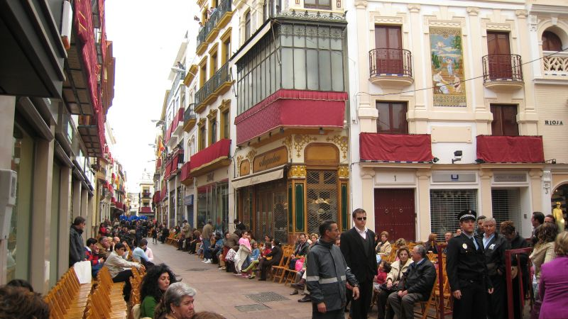 Calle Sierpes (Sevile, Spain)