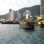Hong Kong Island and the West Kowloon Peninsula