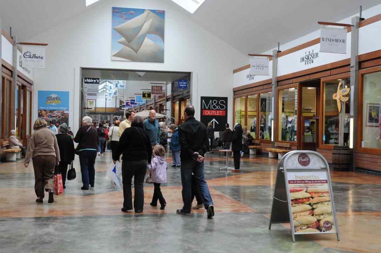 Atlantic Village Outlet Shopping Centre, Bideford, Devon, England