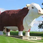 Iowa's popular landmark statues, Sculptures