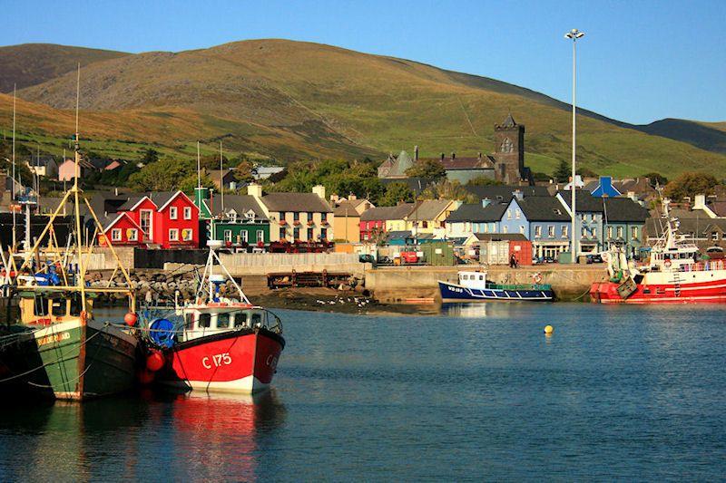Dingle, harbor-side town on west coast of Ireland