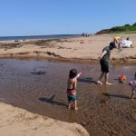 PEI beaches: Cavendish Beach, Singing Sands, Red Sand, Camping