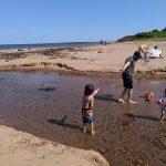 PEI beaches: Cavendish Beach, Singing Sands, Red Sand, Camping