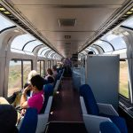 Train trips along the U.S. West Coast