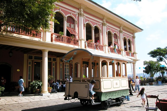 Historical park Guayaquil in Ecuador