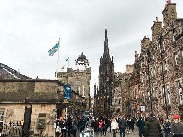 Edinburgh's Royal Mile attractions